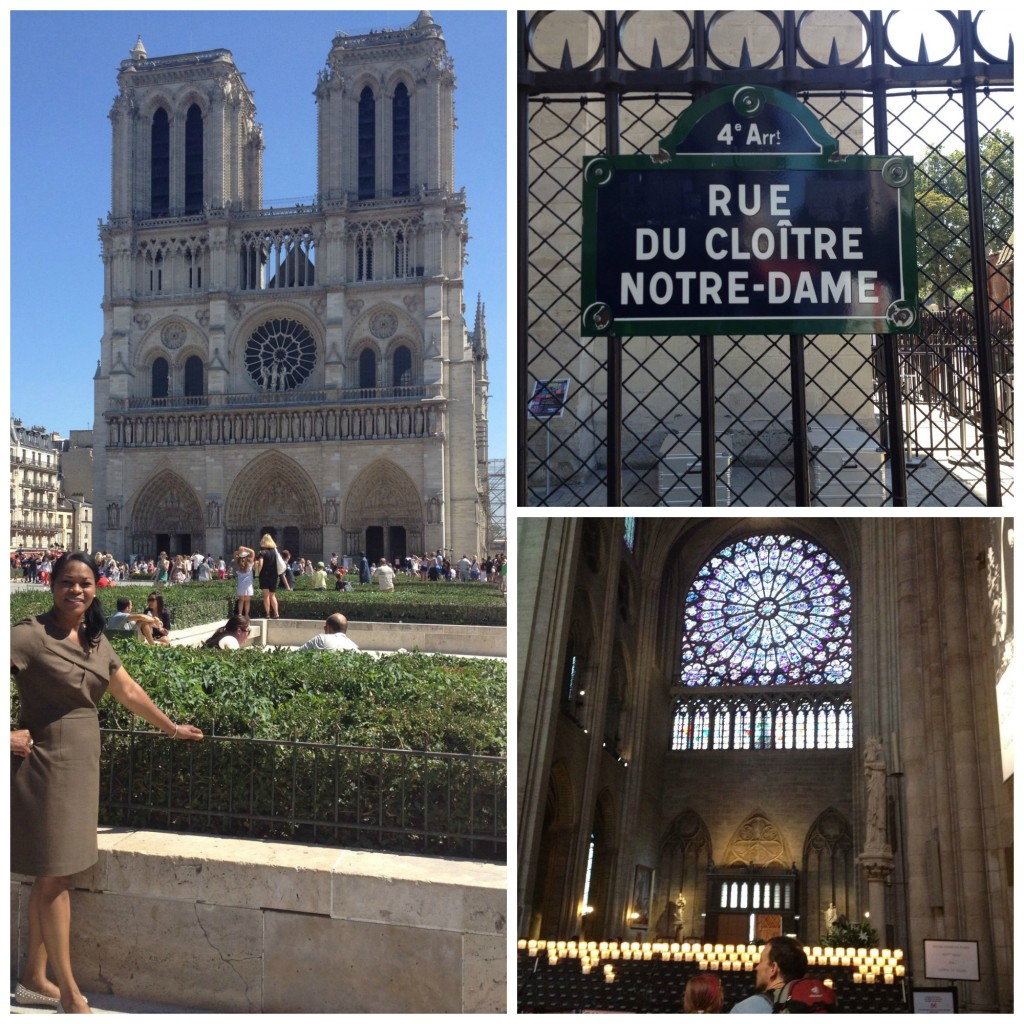 Notre Dame Cathedral, excellent example of French Gothic architecture