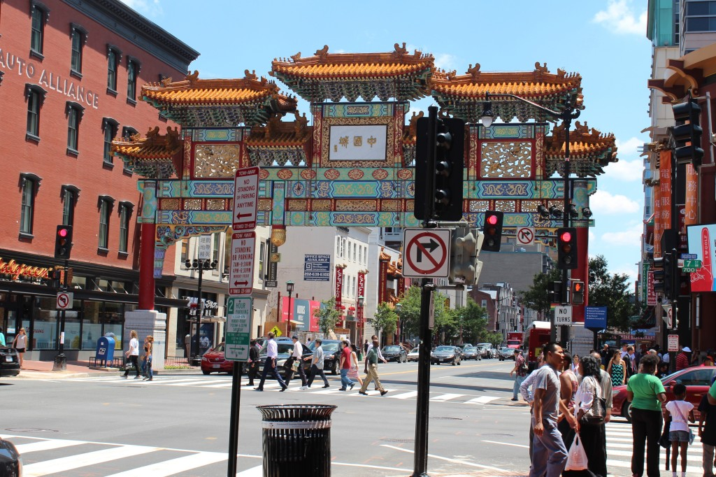 Within 5 minutes of the Grand Hyatt Washington Hotel is Chinatown.