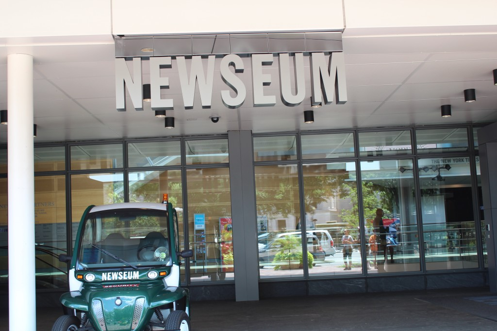 Newseum 555 Pennsylvania Avenue, Washington, D. C.