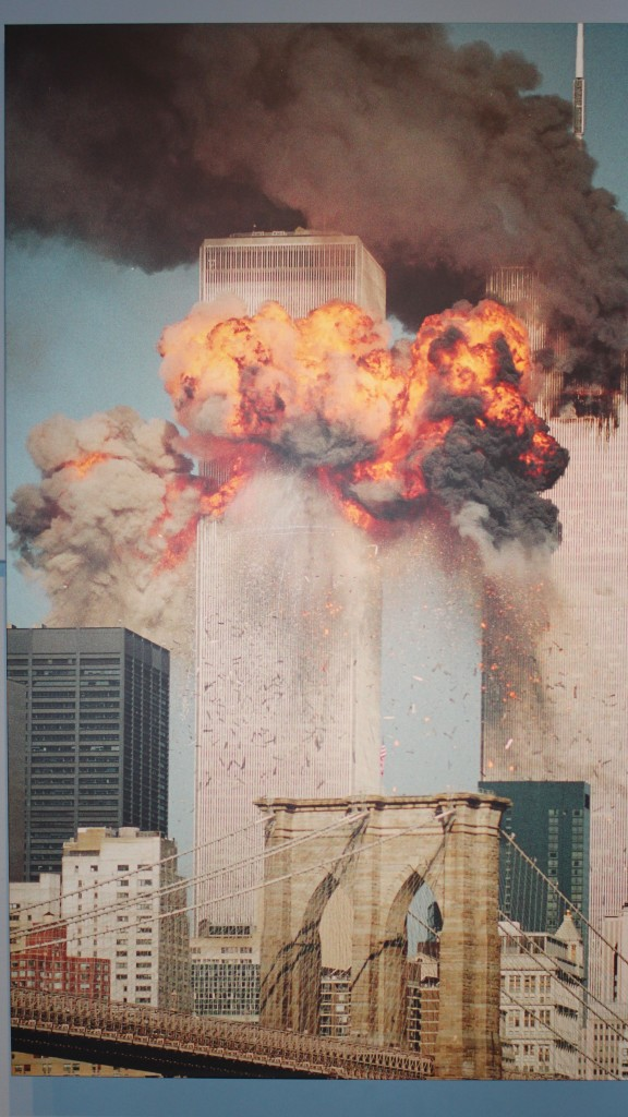 2002 Pulitzer Prizer Photographer, Steve Ludlum's 9/11 photo