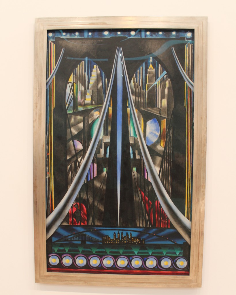 The Brooklyn Bridge: Variation on an Old Theme, 1939 by Joseph Stella (oil on canvas)