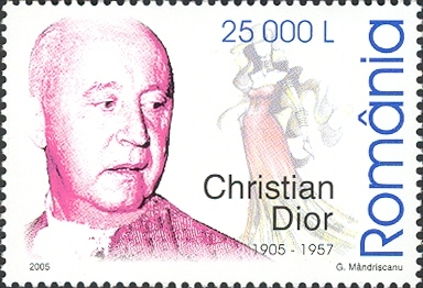 Yes, Mr. Dior. Stamps of Romania, 2005.