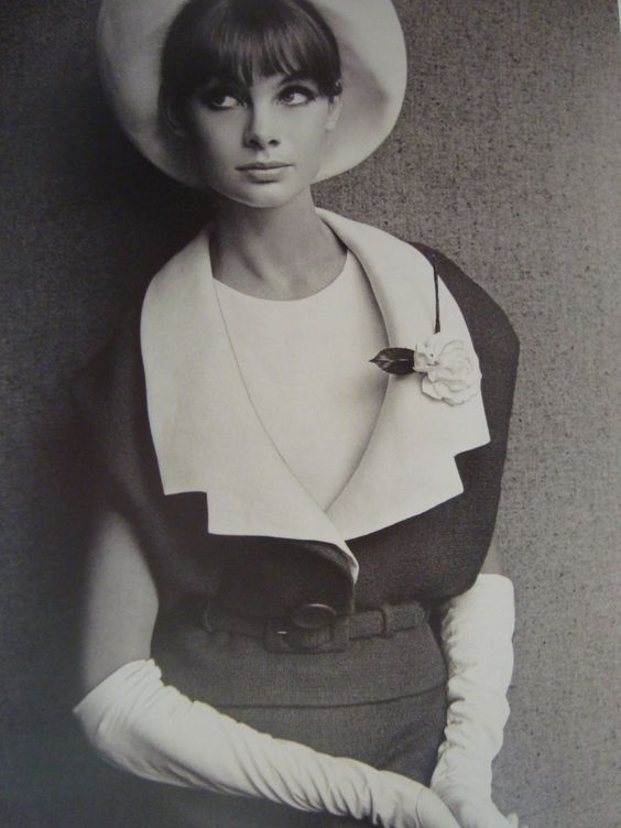 Yes, Mr. Dior. 1963 Jean Shrimpton in Marc Bohan for Dior.